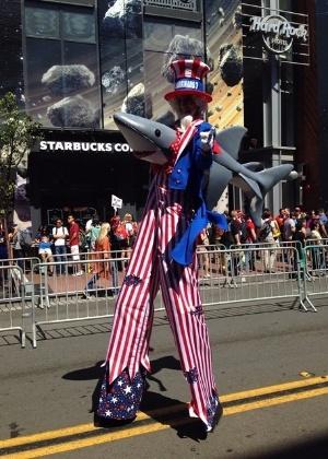 9.jul.2015 - Público aproveita a San Diego Comic-Con nesta quinta-feira, na Califórnia
