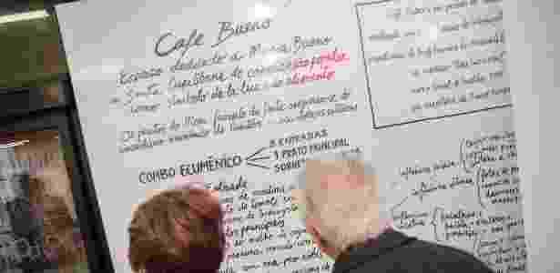 """""""Café Bueno"""" é um espaço dedicado à santa curitibana Maria Bueno e une essa homenagem ao café. - Divulgação"""
