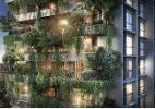Tendência internacional, jardim vertical na sacada é a nova varanda gourmet - Divulgação
