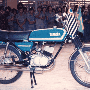 """Yamaha RD 50, primeira moto """"made in Brazil"""", faz 40 anos - Arquivo Aldo Tizzani/Reprodução"""