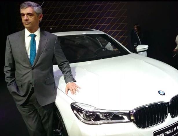 Português, Helder Boa Vida é o novo presidente e CEO do Grupo BMW do Brasil - Eugênio Augusto Brito/UOL