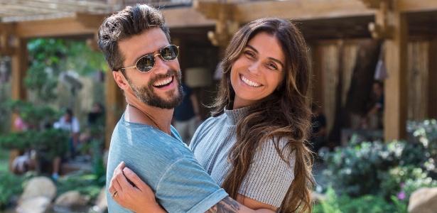 "Giovanna Antonelli e Bruno Gagliasso, os protagonistas de ""Sol Nascente"" - Estevam Avellar/TV Globo"