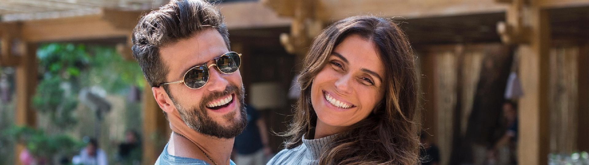 Giovanna Antonelli e Bruno Gagliasso, os protagonistas da novela
