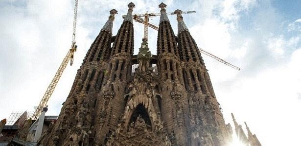 Templo Expiatório da Sagrada Família, também conhecido como Sagrada Família - Getty Images