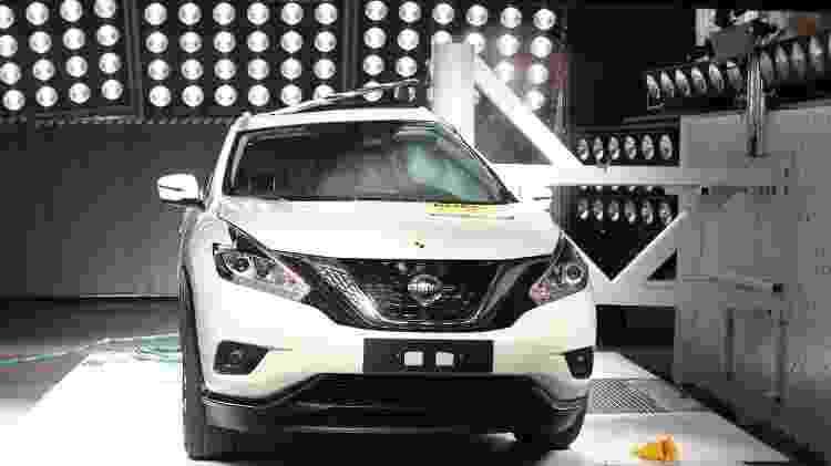 Nissan Murano 2017 Latin NCAP - Divulgação - Divulgação