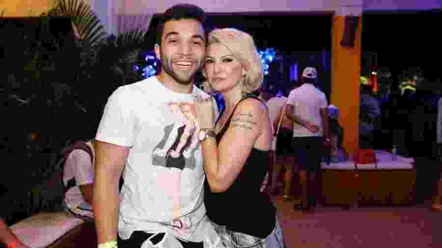 Jonathan Costa e Antonia Fontenelle estavam casados havia um ano - AgNews