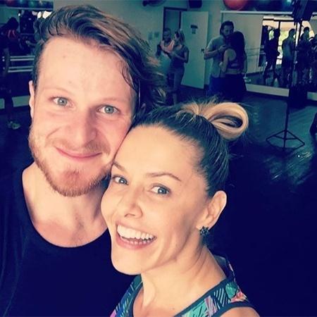 """Bianca Rinaldi posta foto com seu par do """"Dancing Brasil"""" - Reprodução/Instagram"""