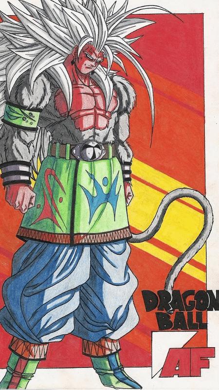 """A lenda em torno de """"Dragon Ball AF"""" ganhou proporções enormes após essa imagem ser divulgada - Reprodução"""