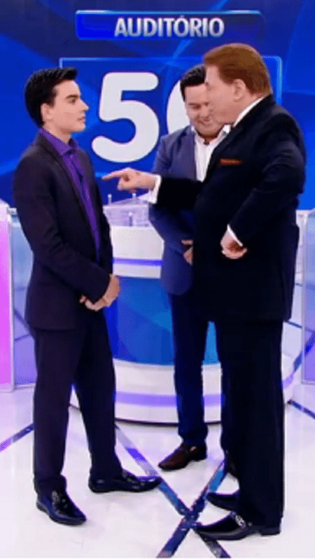 Dudu diz que Boris não tem nem saúde para dançar - Reprodução/SBT.com.br
