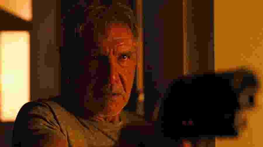"""Harrison Ford em cena de """"Blade Runner 2049"""" - Divulgação"""