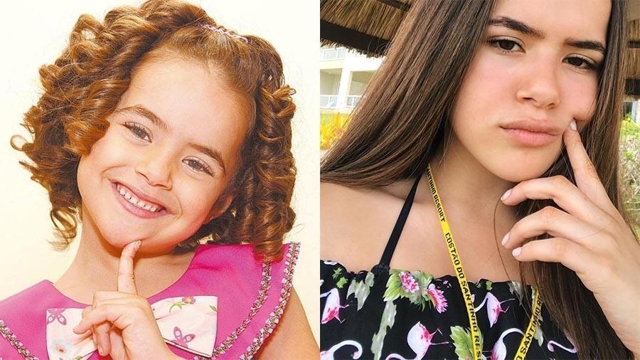 """Com os cabelos cacheados, Maisinha foi descoberta aos 3 anos no """"Programa Raul Gil"""". O talento precoce lhe rendeu um contrato com o SBT para apresentar os programas """"Sábado Animado"""" e """"Bom Dia e Cia"""" e participar do """"Programa Silvio Santos"""". Aos 15 anos, ela continua no SBT e já participou das novelas """"Carrossel"""" (2012), """"Patrulha Salvadora"""" (2014), """"Chiquititas"""" (2014) e """"Carinha de Anjo"""" (2016)"""