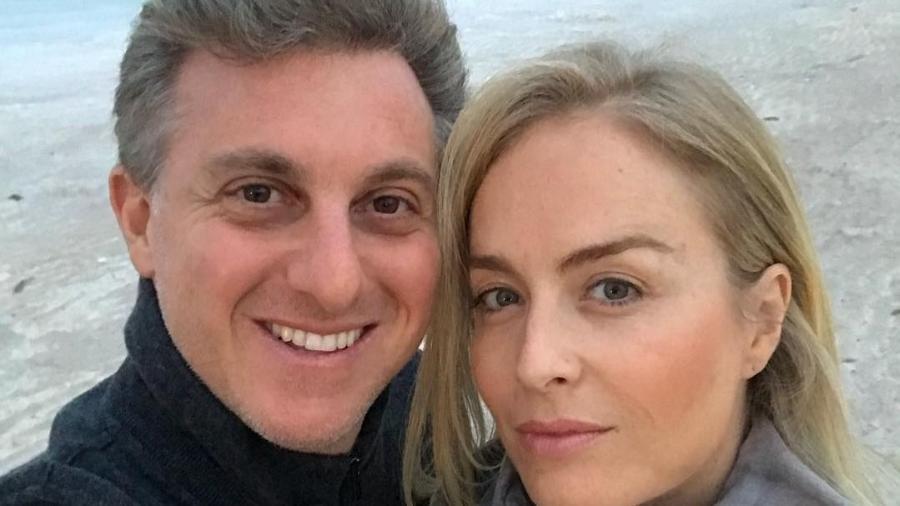 Angélica e o marido, Luciano Huck - Reprodução/Instagram