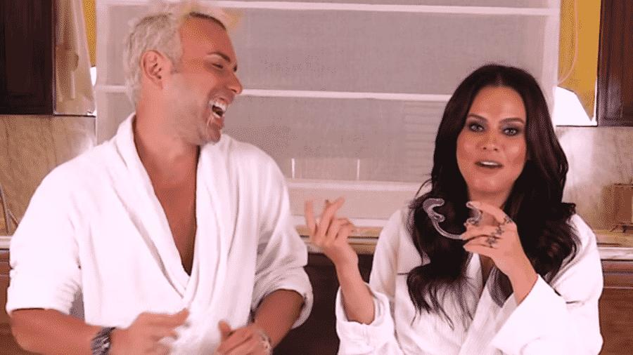 Matheus Mazzafera entrevista Letícia Lima - Reprodução/YouTube