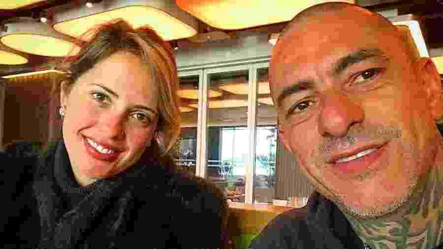 Carine Ludvic e Henrique Fogaça - Reprodução/Instagram