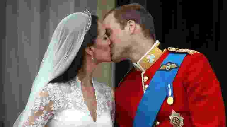O casamento de Kate Middleton com o príncipe William - Getty Images
