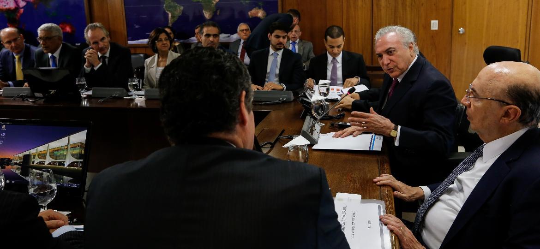 Reunião da Anfavea já aconteceu em Brasília com participação do Presidente da República, Michel Temer - Marcos Corrêa/PR
