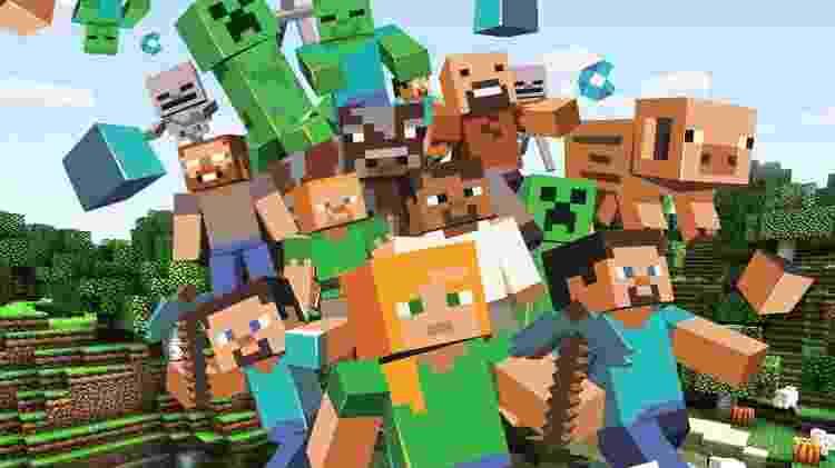 Minecraft - Divulgação - Divulgação
