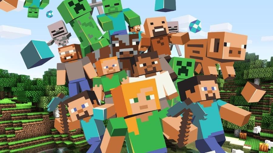 Minecraft - Divulgação