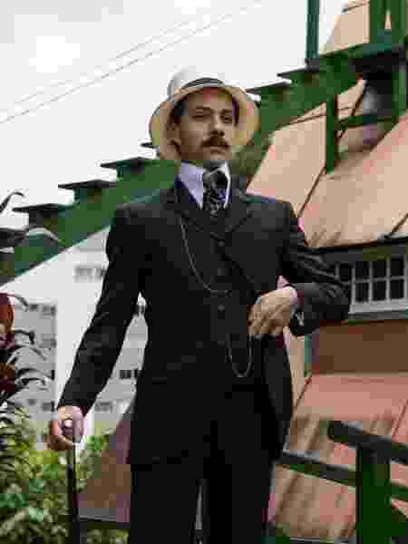 João Pedro Zappa é Santos Dumont na série da HBO Santos Dumont: Mais Leve que o Ar - Divulgação/HBO - Divulgação/HBO