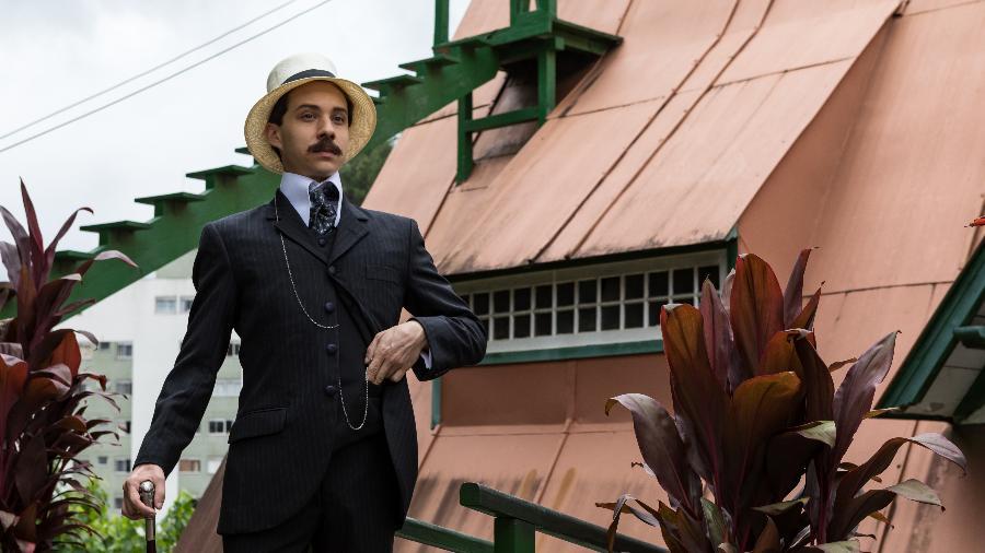 """João Pedro Zappa é Santos Dumont na série da HBO """"Santos Dumont: Mais Leve que o Ar"""" - Divulgação/HBO"""