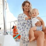 """Enrico """"praieiro"""": fotos fofas do #babyBacchi curtindo sol, areia e mar - Reprodução/Instagram"""
