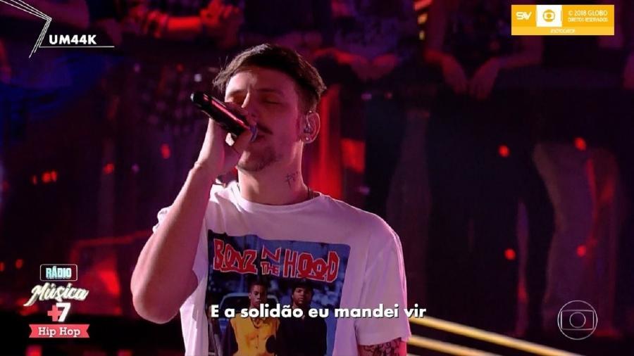 Cantor traído por atriz participa de programa da Globo - Reprodução/TV Globo
