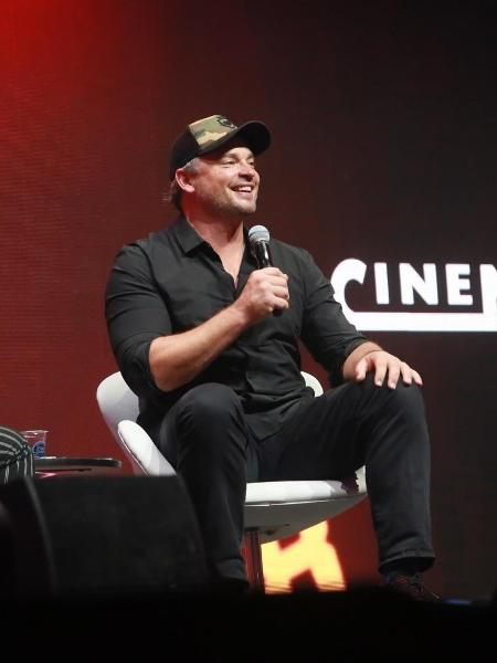 "O ator Tom Welling participa de painel sobre ""Smalville"" na CCXP 2018 - Iwi Onodera/UOL"