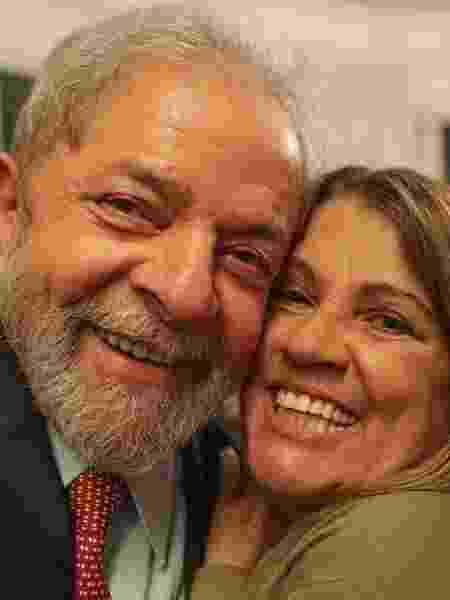 Lula e Tássia Camargo em postagem da atriz no Instagram de 2019 - Reprodução/Instagram - Reprodução/Instagram