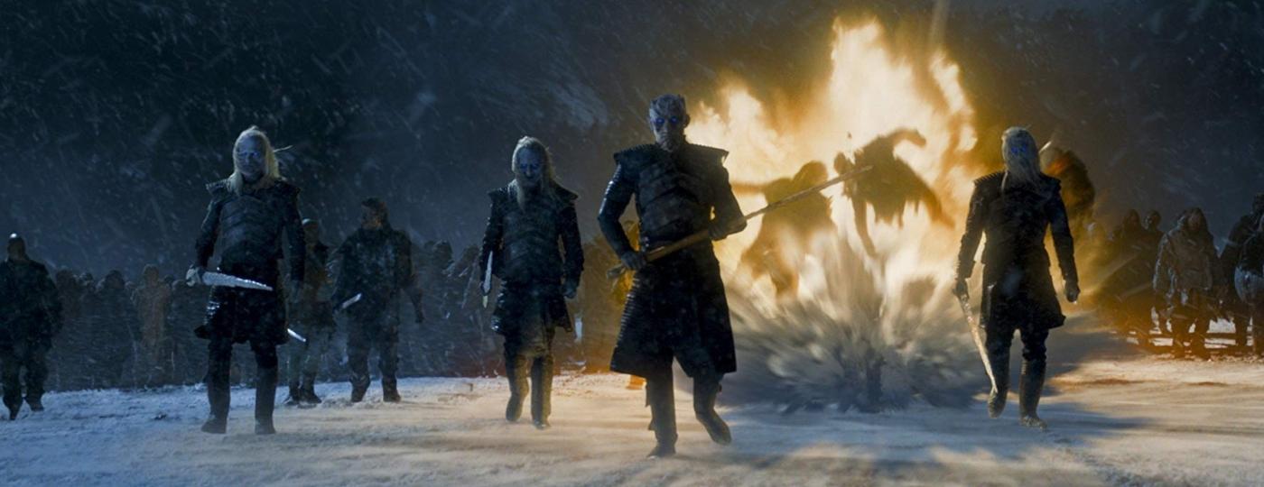 """O Rei da Noite (Vladimir """"Furdo"""" Furdik) comanda o seu exército em """"Game of Thrones"""" - Divulgação"""