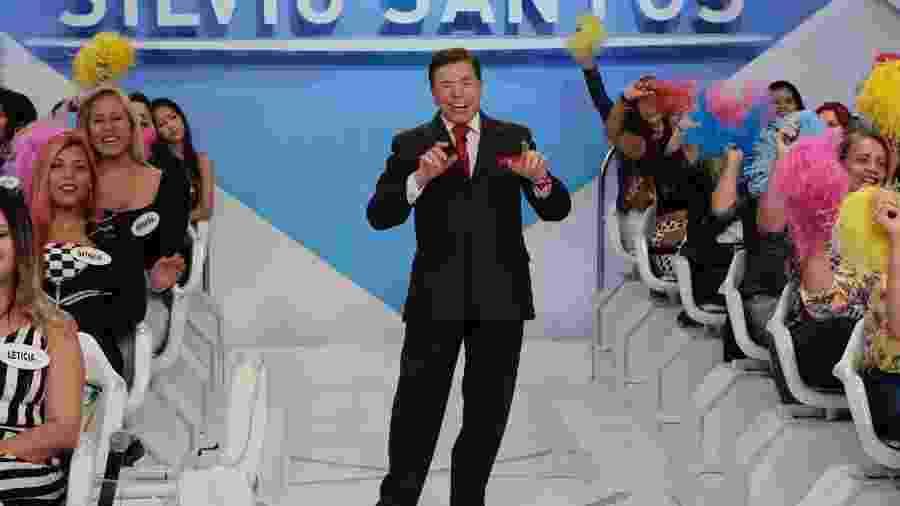 """O apresentador e dono do SBT, Silvio Santos, está promovendo um """"passaralho"""" na emissora - Lourival Ribeiro/SBT"""