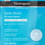 Máscara facial Hydro Boost, R$ 19,90, Neutrogena, neutrogena.com.br - Divulgação