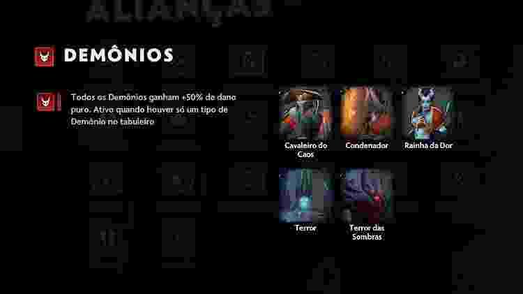 Dota Underlords - Demônios - Reprodução - Reprodução