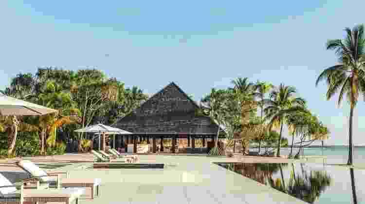 Vista panorâmica da ilha de Nukutepipi, localizada na Polinésia Francesa, no Oceano Pacífico - Divulgação/Airbnb - Divulgação/Airbnb