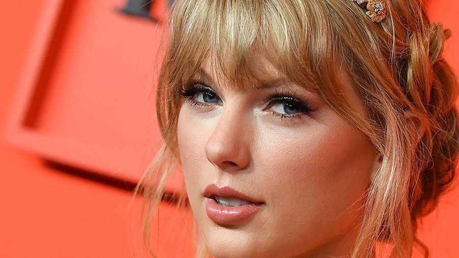 A cantora Taylor Swift - Angela Weiss/AFP