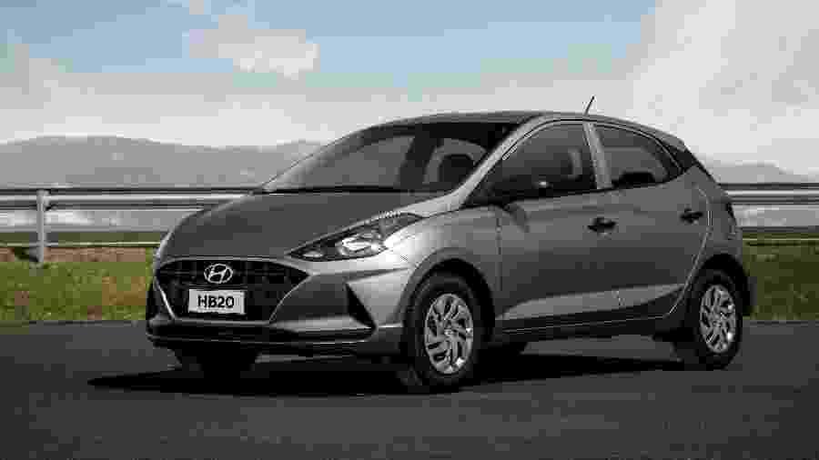 HB20 Sense teve boa procura, de acordo com a Hyundai - Divulgação