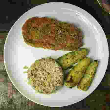 Bife de jaca com arroz dois grãos e batata doce sauté é uma das refeições mais pedidas  - Divulgação/Free Soul Food