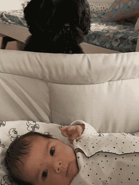 Clara Maria, filha de Tatá Werneck - Reprodução/Instagram