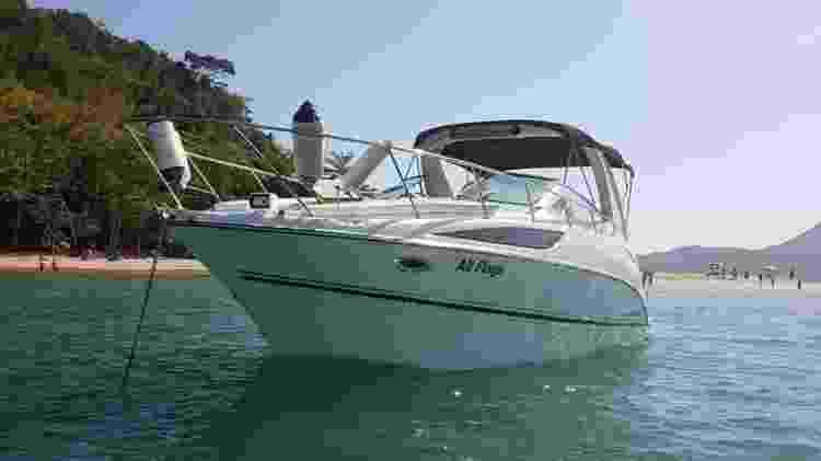 Bayliner 310Br Special Edition, do proprietário Ricardo Barkett - Divulgação