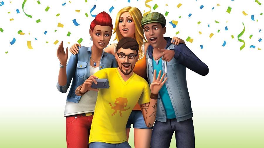 Em seus 20 anos, The Sims teve 4 jogos principais e dezenas de expansões temáticas - Divulgação/EA