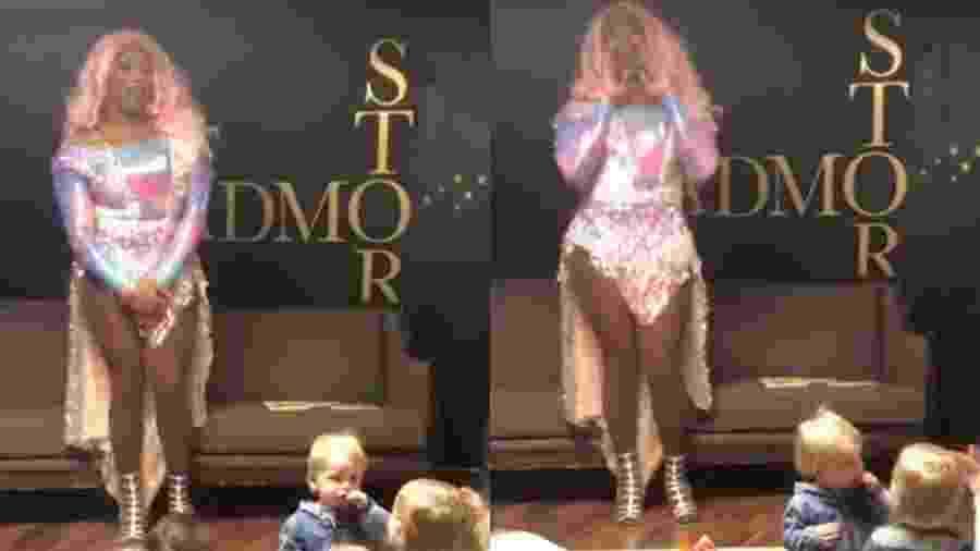 Grupo de drag queens vem rodando os EUA para incentivar leitura e diversidade entre crianças - Reprodução/Youtube