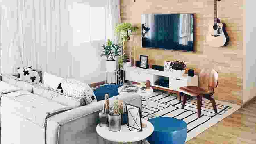 Nathália Candelária aposta na decoração funcional e afetiva em seu apartamento - Instagram/apartamento_203