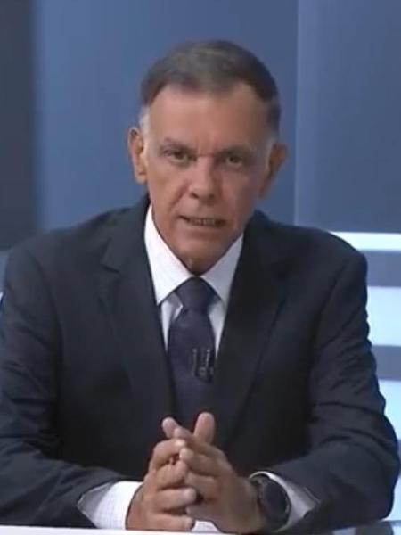 Luiz Carlos Braga perdeu emprego para Matheus Ribeiro   - Reprodução/Record