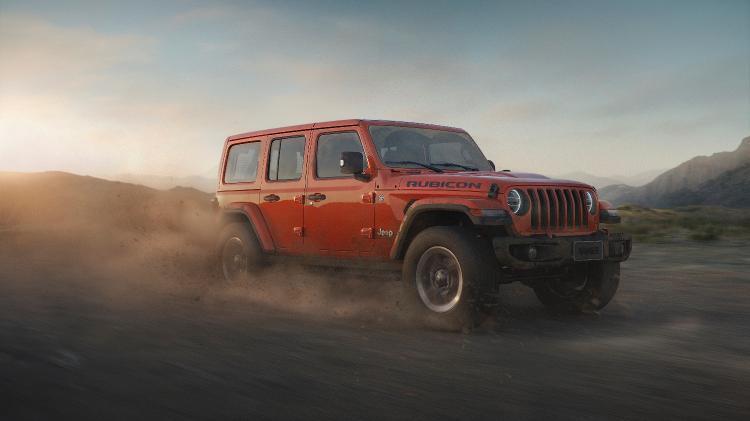 Jeep Wrangler Rubicon 2 - Divulgação - Divulgação