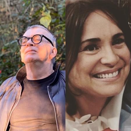 Walcyr Carrasco e Regina Duarte - Reprodução / Instagram