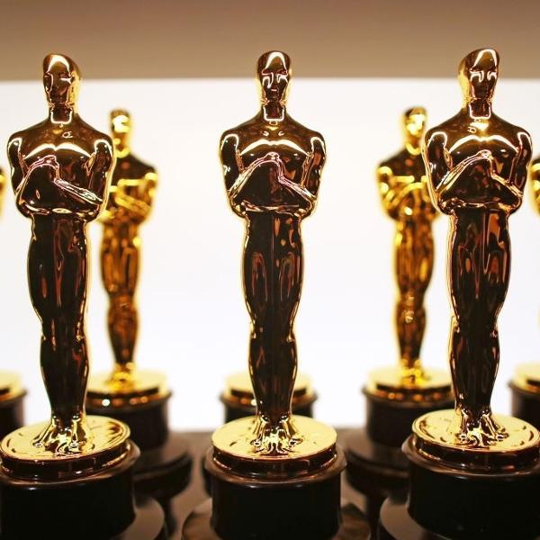 26.fev.2017 - Estatuetas do Oscar em Hollywood