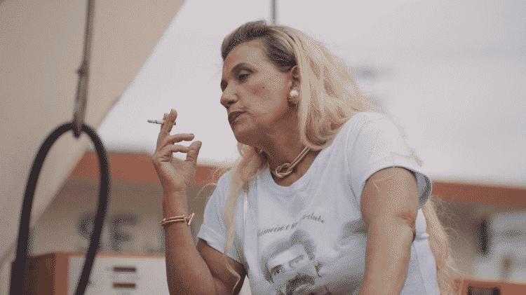 Rita Cadillac como Cida em 'Auto Posto' - Divulgação - Divulgação