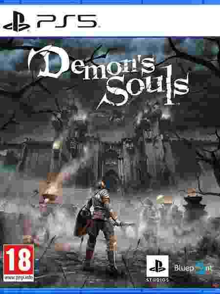 Demon's Souls PS5 capa - Divulgação - Divulgação
