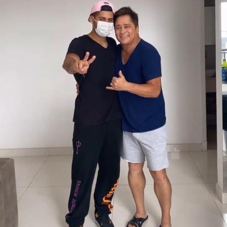 Zé Felipe e Leonardo - Reprodução/Instagram