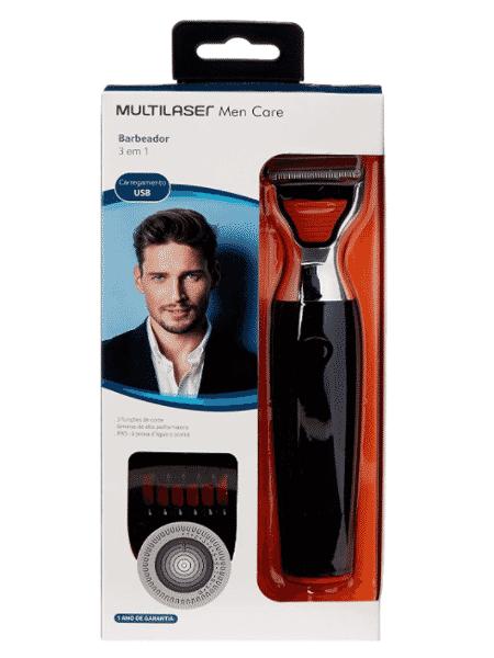 Barbeador Multiblade 3 em 1 Multilaser  - Divulgação - Divulgação