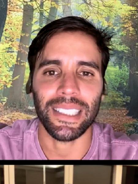 Daniel Cady errou em live com Regina Casé ao falar que a família está imune - Reprodução/Instagram